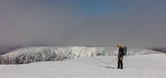 Nevis Summit (Visible Landscape) Tags: uk snow scotland highlands bennevis climber mountaineer ecosse