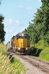 Atwater, Wisconsin (UW1983) Tags: trains railroads wsor wisconsinsouthern l595 wamx oshkoshsub