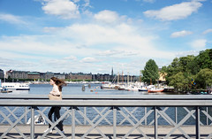 DSC00060(1) (Julia Malm) Tags: life city bridge summer boats harbor stockholm