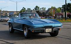 1967 Chevrolet Corvette Sting Ray Convertible (SPV Automotive) Tags: blue classic chevrolet sports car ray sting convertible 1967 corvette c2