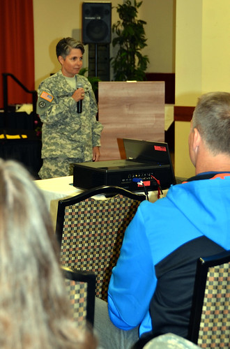 USARAF's Hardison describes her journey from private to colonel