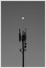 Lunar Transponder (drivingback) Tags: blackandwhite bw moon beautiful forsale prints lunar 2015 smca50mmf17 pentaxk30 beautifulprintsforsale