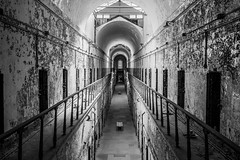 Eastern State Penitentiary (2) (tyrell.t) Tags: old blackandwhite abandoned philadelphia decay prison jail esp easternstatepenitentiary statepenitentiary