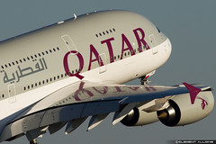 Qatar Airways Airbus A380-861 cn 145 F-WWAL // A7-APC (Clément Alloing - CAphotography) Tags: sky test cn canon airplane airport aircraft flight engine ground off aeroplane landing 7d airbus take toulouse airways aeroport aeropuerto blagnac spotting tls qatar 145 100400 lfbo a380861 fwwal a7apc
