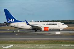 SAS - SE-REX - B737-700 (Aviation & Maritime) Tags: norway sk boeing sas scandinavian osl gardermoen scandinavianairlines b737 boeing737 engm oslolufthavngardermoen boeing737700 b737700 osloairport osloairportgardermoen serex