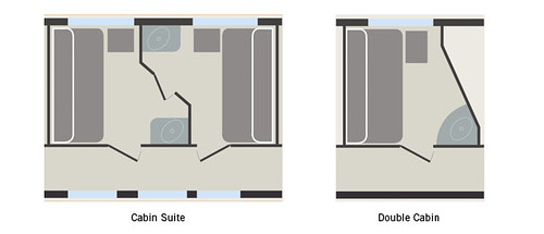 Venice Simplon-Orient-Express cabin plan
