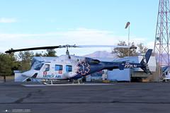 Mercy Air Bell 222UT N222LN (PhantomPhan1974 Photography) Tags: nevada enterprise mercyair bell222 n222ln