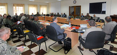 Eastern Accord 15 planning event held in Uganda (US Army Africa) Tags: italy murray vicenza hollenbeck mgwilliams africom ea15 casermaederle usafricacommand usarmyafrica usaraf armyafrica majgendarrylawilliams easternaccord15 mainplanningevent