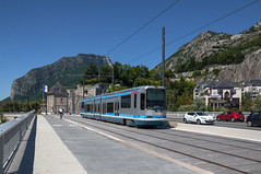 140818_Grenoble_430 (rainerspath) Tags: france grenoble frankreich trolley tag tram alstom trams tramway isre rhnealpes strasenbahn tfs2 pontdelaportedefrance smitag