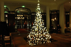 Royal Monceau Paris, Nol (LostNCheeseland) Tags: christmas xmas paris hotel noel christmastree luxuryhotel royalmonceau rafflesparis