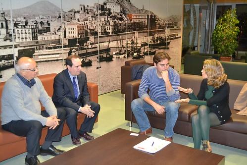 Reunión CMN en UPCT con Abdelmadjid Aboura (Universidad de Tlemcen, Argelia)