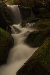 Brook - Long Exposure (i-r-paulus) Tags: longexposure brook dartmoor mossy
