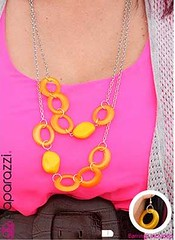 Sunset Sightings Yellow Necklace K2A P2911A-5