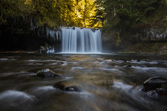 Butte Creek Falls. (Ulrich Burkhalter) Tags: buttecreekfalls imgp4767pr