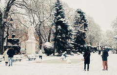 (PetterZenrod) Tags: winter snow cold ice nieve fuente paseo invierno frío burgos hielo espolón