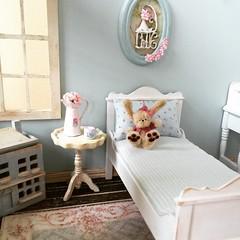 Sunny morning in a tiny blue room. A happy new year (*Joyful Girl ♥ Gypsy Heart *) Tags: