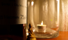 Marvin (alkaneren) Tags: life desktop stilllife love glass mercedes bottle mood candle wine buddha istanbul spiritual 2015