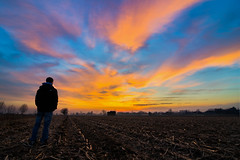 DSC_8595 sovrapposte (The Real Luke Skywalker) Tags: pink blue orange me yellow clouds composition sunrise landscape countryside nikon colorful shoot purple year first tokina gelb blau coloured brianza lombardia campi 2015 basiano masate 1116mm d3100