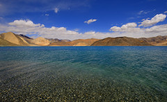 Pangong Lake (nimitnigam) Tags: trip travel india mountain lake mountains expedition water lens landscape photography landscapes nikon tour angle indian wide lakes trips tso nikkor leh ultra allt ladakh jammu nimit d800 waterscape pangong 1735mm nigam waterscapes uwa lakescapes 2015 lakescape f28d astrolandscape nimitnigam