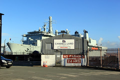 Fort Victoria (North Ports) Tags: west river fort navy royal victoria camel birkenhead float fleet laird mersey rfa auxilary a387