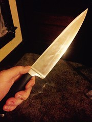 Hand Holding Chef Knife (stevendepolo) Tags: holding hand knife chef