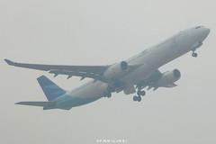 Garuda Indonesia A330-341 PK-GPC (fakhrizainar) Tags: airport airbus a330 balikpapan a330300 skyteam garudaindonesia sepinggan