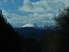 Cairngorm snow..x (lisa@lethen) Tags: trees sky snow mountains nature weather clouds spring cairngorm