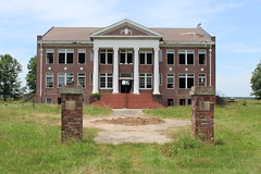 Oak Ridge High School (rfulton) Tags: rural schools abandonedbuildings