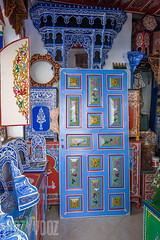 Painted Wood Workshop (Sue_Hutton) Tags: shop rural woodwork spring morocco maroc workroom tangier tanger asilah