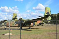 DSC_0917 (LoxPix2) Tags: clouds vintage landscape airport aircraft australia queensland nomad caribou oakey loxpix australianarmyflyingmuseum