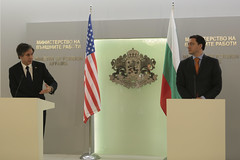 Deputy Secretary Blinken and Bulgarian Foreign Minister Mitov Address Reporters After Their Meeting in Sofia (U.S. Department of State) Tags: sofia bulgaria tonyblinken danielmitov antonyblinken