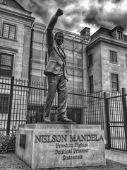 Invictus (LaTur) Tags: statue southafrica washingtondc dc dcist mandela nelsonmandela invictus welovedc