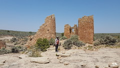 Fred at Hovenweep