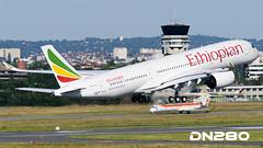 Ethiopian A350-941 msn 040 (dn280tls) Tags: msn ethiopian 040 a350941 etatq fwzgm