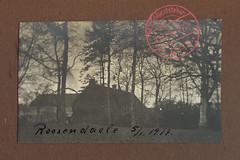 Kriegserinnerungen 1914-18. 151 - Ichtegem, kasteel Rosendahl (Feldpost 14) Tags: wwi worldwari flandern ichtegem