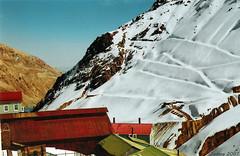 Sewell (Javiera C) Tags: chile mountain snow abandoned film nieve scan ghosttown canonae1 montaña worldheritage puebloabandonado analogic película patrimoniodelahumanidad