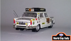 PEUGEOT 404 World Cup Rally 1970 (Gjy 54) Tags: peugeot404 worldcuprally1970 rallyelondresmexico1970 kenhaskell davidpaull douglaslarson ferodo champion koni wynns trico britax castrol cibi