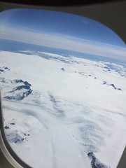 Greenland by plane (Le monde aux yeux d'une Canadienne) Tags: greenland flight ice mountains glaciers snow sky airborne airplane