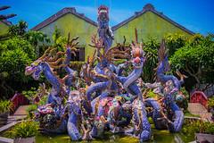 Dragon Fountain (Ren Lok) Tags: travel holiday art fountain statue asia dragon dragons vietnam traveling hue traveler travelphotography