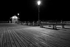 At the end of the pier (technodean2000) Tags: ocean wood city uk bridge winter sunset sea summer sky blackandwhite bw sun white holiday black color colour building heritage beach water monochrome beauty field skyline wales architecture night clouds sunrise river out landscape lights coast pier photo seaside nikon colorful day waterfront bright cloudy outdoor dusk south border cardiff pic vale snaps shore saturation glamorgan coastline serene impressed penarth depth lightroom photoscape d5200 mygearandme