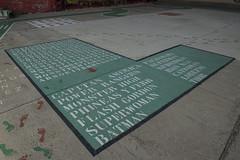 10 Algo escrito en el suelo (Photo Sonntags) Tags: cmic hroes sopadeletras entretenimiento zaragoza suelo haiku lvm juegolvm
