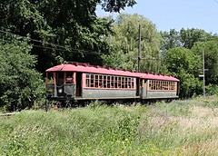 Countryside Run of the 4000 (Laurence's Pictures) Tags: railroad chicago electric wisconsin train see do cta authority rail railway troy things tourist east transit interurban 4000