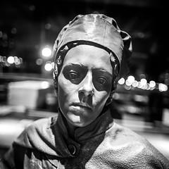 American Decisions (Thomas Hawk) Tags: bw sculpture usa wisconsin america unitedstates unitedstatesofamerica milwaukeeartmuseum milwaukee