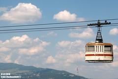 Abandoned Cable Car in Tbilisi (Georgia) connecting districts Samgori - Vazisubani (Irakli Zhozhuashvili) Tags: cable car ropeway seilbahn pendelbahn gondola aerial tramway