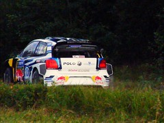 Ogier / Ingrassia - VW Polo WRC - SS2 - Mokkipera 1 - Rally Finland 2016 (74Mex) Tags: ss2 mokkipera 1 rally finland 2016 ogier ingrassia vw polo wrc