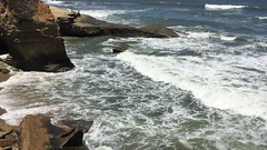 Sunset Cliffs (video) (valeehill) Tags: sandiegocounty pointloma sunsetcliffs pacificocean waves video ocean
