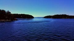 Schwartz Bay, British Columbia 1 (Dan Beland) Tags: ocean water clouds waves britishcolumbia bluesky victoria vancouverisland gulfislands ripples sidney sunnyday darkblue deepblue schwartzbay