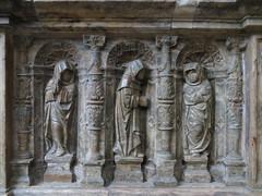Tombeau du Cardinal Brionnet, detail (kakov) Tags: narbonne narbona languedocroselln siglo xiii xiv century xvi 16th renaissance renacimiento