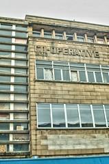 Art Deco CO-OP, Huddersfield, UK, 2014, jcw1967 (5) (jcw1967) Tags: huddersfield uk 2014 cooperative huddersfieldcoop artdeco 1936 hdr oloneo ope