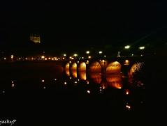 Bridge arches at night (Pierrot 49) Tags: nightfoto night city lights bridge angers france smartphone